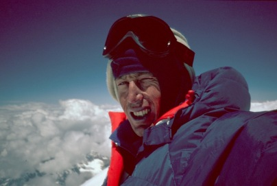 Tim on summit 1990