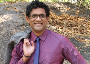 Raj with rock (1)