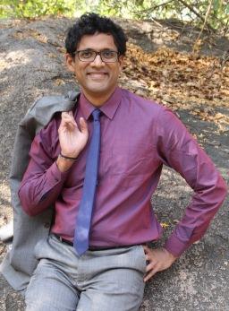 Raj with rock (2)